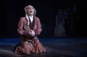 "Mark Anderson Phillips takes on his first full production as ""Scrooge"" at Center REP. (Photo by Kevin Berne)"