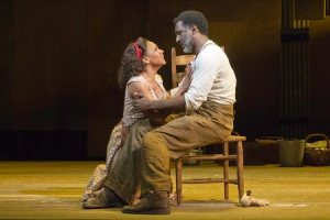 Porgy and Bess, starring Audra McDonald and Norm Lewis in the title roles, was a scintillating and historic piece of American theatre, brought to life beautifully by Diane Paulus' brilliant direction. (Photo by Michael J. Lutch)