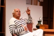 """Herbert Siguenza captures the essence of Pablo Picasso in """"A Weekend with Pablo Picasso"""" at San Jose Stage Company through Dec. 7th. (Photo by Darren Scott)"""