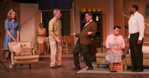 "6th Street Playhouse brings the 2011 Prize winning play ""Clyboure Park"" to Santa Rosa for a three-week run. (Photo by Eric Chazankin)"