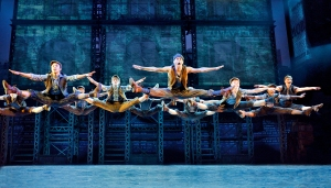 "The national tour of ""Newsies makes a month long stop at the Orpheum Theatre in San Francisco. (Photo by Deen Van Meer)"
