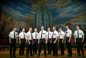 A group of young Mormon missionaries are ready to bring Mormonism to the masses in