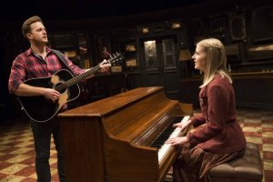 Guy (Stuart Ward) finds his song with the help of Girl (Dani de Wall) in the musical