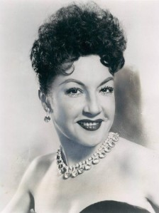Ethel Merman is considered the