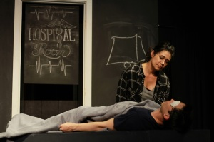 Maria Candelaria and Bobby August. (Made Up Theatre photo)