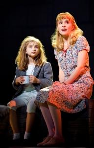 Matilda (Mabel Tyler) is befriended by her loving teacher Miss Honey (Jennifer Blood) in