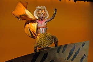 Aaron Nelson stars as Simba in Disney's hit
