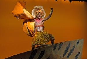 Aaron Nelson stars as Simba in Disney's hit