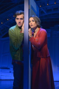An awkward and gentle love affair take place between Nino (Adam Chanler-Berat) and Amelie (Samantha Barks) in the world premiere of the new musical