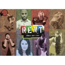 """Rent"" runs in Sunnyvale through May 1st."