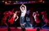"""The Emcee (Randy Harrison) presides over the decadence of late 1920's Germany in """"Cabaret,"""" through July 17th in San Francisco. (Photo by Joan Marcus)"""
