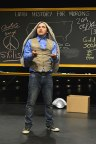 """John Leguizamo crams 3,000 years of history into 90 minutes in his newest one-man show """"Latin History for Morons"""" at Berkeley Rep through Aug. 14th. (Photo by Kevin Berne)"""