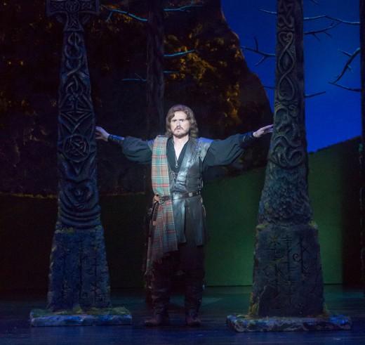 "Opera San Jose resident artist Kirk Dougherty, seen here as Edgardo in ""Lucia di Lammermoor,"" is playing Count Almavida in ""The Barber of Seville"" through Nov. 27th at Opera San Jose. (Photo by Pat Kirk)"