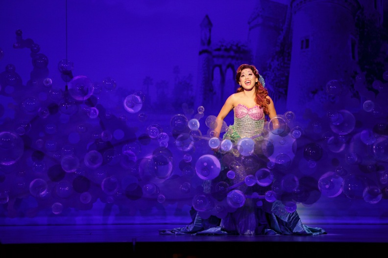03_Diana Huey in Disney's THE LITTLE MERMAID. Photo by Mark & Tracy Photography.